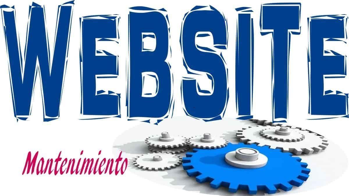 Mantenimiento de páginas web Gestion de marketing y comunicación